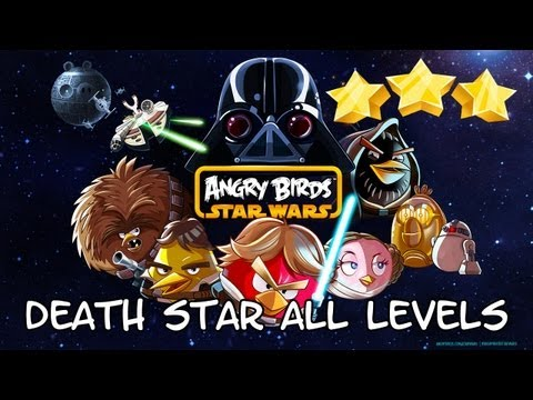 Angry Birds Star Wars Death Star All levels 3 stars