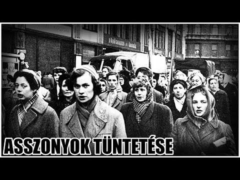 1956. december 4. - Asszonyok tüntetése