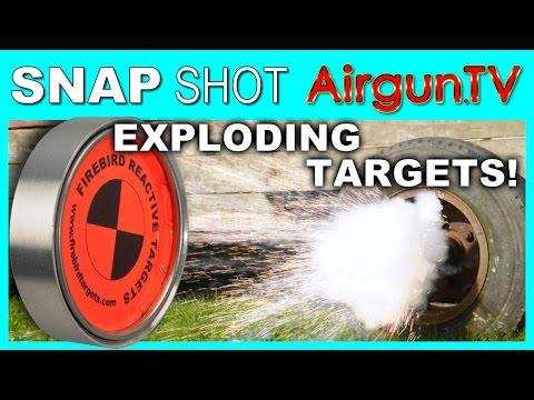 Exploding Air Gun Targets from Firebird