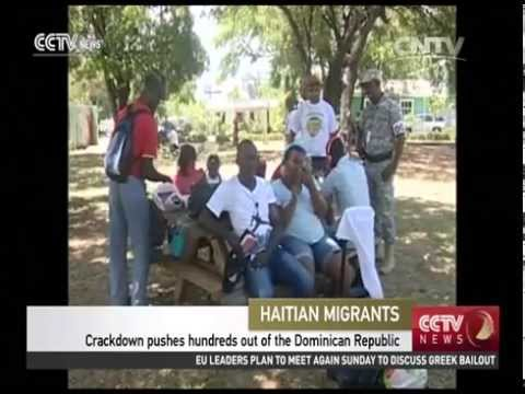Migration crackdown pushes hundreds of Haitians out of Dominican Republic