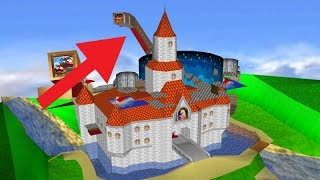 What Peach's Castle REALLY Looks Like!