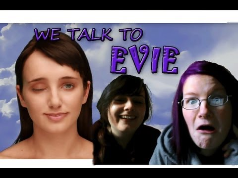 She's F###ed Up!! We (play) Talk To Evie - Existor (shocking hilarious!) video