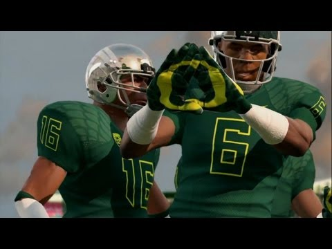 NCAA Football 14: Gameplay Trailer w/ NEW Presentation Features!
