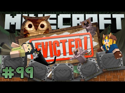 Minecraft: Evicted! #99 - Dumbledaz! (yogscast Complete Mod Pack) video