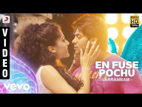 Arrambam - En Fuse Pochu Video | Arya, Tapsee video