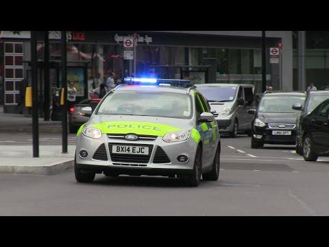 Two Ford Focus Estate IRV - London Metropolitan Police