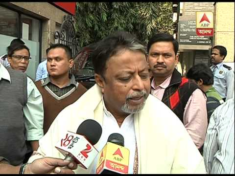 Mukul Roy before entering CM's house at Kalighat for core meeting