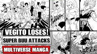 Dragon Ball Multiverse Chapter 33: Vegito Loses! Super Buu Attacks Everyone!