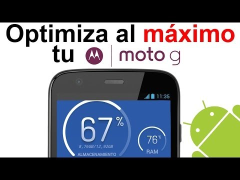 Motorola Moto G: Optimiza al máximo tu Android! Limpia y libera ram. Review Clean Master [HD]