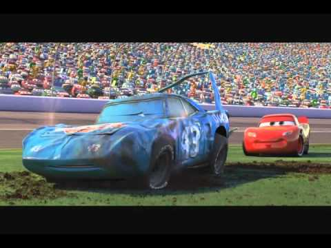 Cars final race - Its just an empty cup