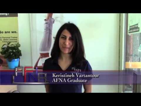 Keristineh, AFNA Graduate