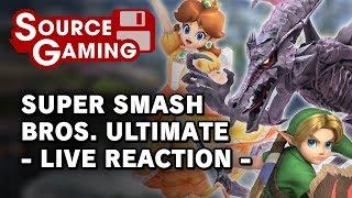 Super Smash Bros. Ultimate - Live Reaction