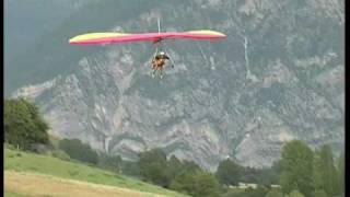 Hanggliding Landings Thorame France - landings