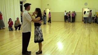Ari and Julie Teach Fusion Waltz at FNW