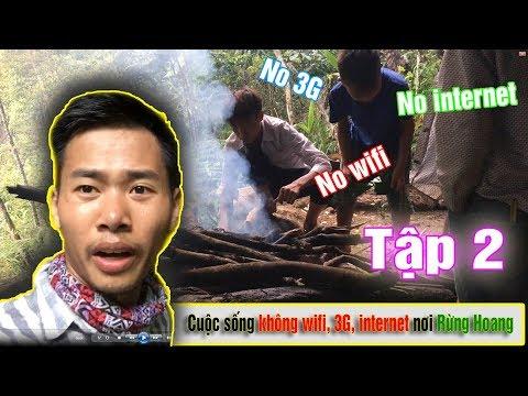 Không chơi game không internet ở trong rừng hoang bạn sẽ làm gì :D Tập 2
