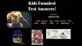 Kids Funniest Test Answers! | Reaction to Kids Funniest Test Answers