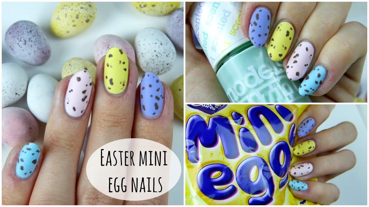 Easy Easter Mini Egg Nails