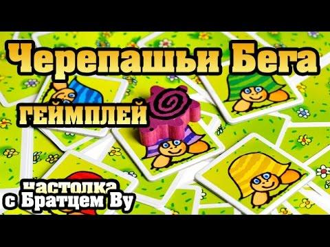 Черепашьи Бега, геймплей - настольная игра с Братцем Ву
