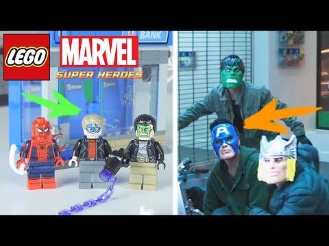 Обзор набора 76082 ATM Heist Battle - LEGO Spider-Man