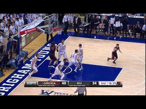 BYU vs. Gonzaga Highlights (2/28/13)