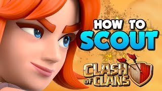 HOW to SCOUT A BASE in Clash of Clans! TH10 vs TH11 Attack Strategy in CoC!