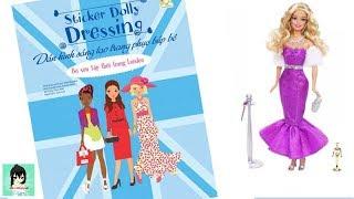 Dán hình sáng tạo trang phục búp bê #8 -BỘ SƯU TẬP LONDON Sticker Dolly Dressing Ami Channel
