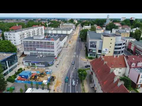 Remont Westerplatte W Zielonej Górze 18.07.2017