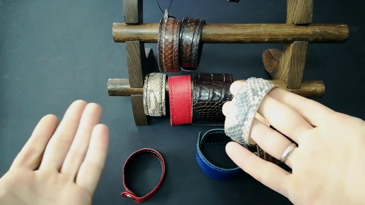 Как сделать кожаные браслеты своими руками 92
