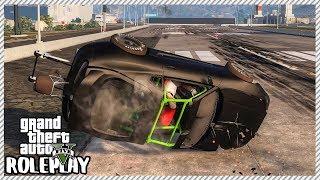 GTA 5 Roleplay - 'HUGE' Toyota Supra Drag Race Car Crash | RedlineRP #378