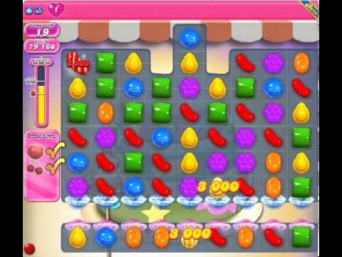 Candy Crush Saga Level 214 - 3 Star - no boosters