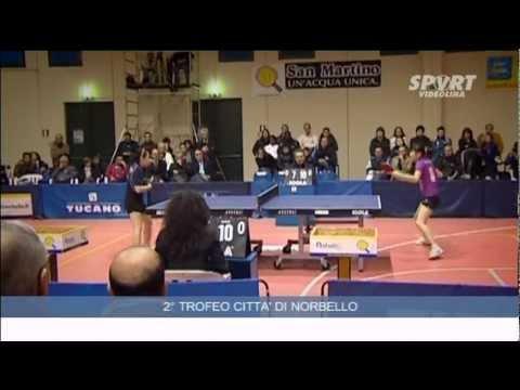 2° Trofeo Città di Norbello – Torneo Internazionale di Tennistavolo – 08 dicembre 2011