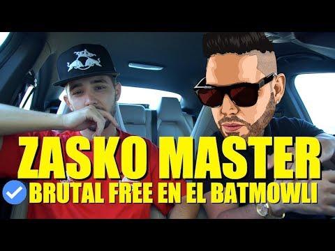 ZASKO MASTER - BRUTAL freestyle sobre TRAP en el #BATMOWLI