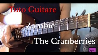 Cours de guitare - Chanson facile 4 accords - Zombie - The Cranberries +TAB
