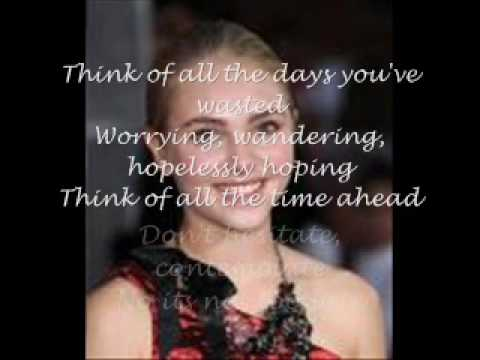 AnnaSophia Robb keep your mind wide open lyrics