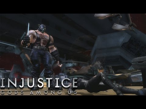 Injustice: Gods Among Us - Bane - Classic Battles On Very Hard (No Matches Lost)