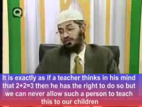 Islam Sharia - Hinduism Is A False Religion As Per Koran - Zakir Naik - Reply By An Indian Muslim video
