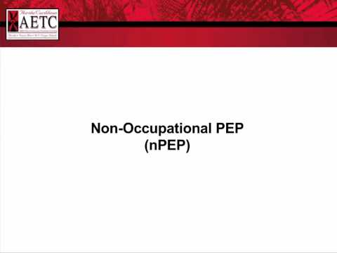 Non-Occupational Post-Exposure Prophylaxis (nPEP) Guidance