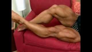 female muscle legs sexy 13