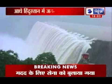 India News : Ganga and Yamuna threaten to inundate localities...