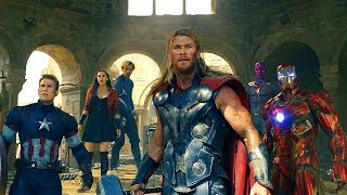 Avengers vs Ultron - Battle of Sokovia - Avengers: Age of Ultron (2015) Movie CLIP HD