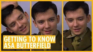Getting to know Asa Butterfield