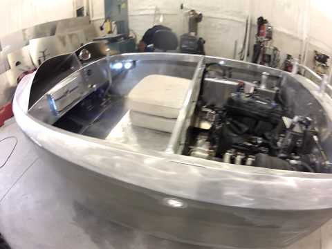 Cbr1000rr Mini Jet Boat ready for trails