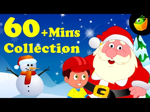 Jingle Bells And More Rhymes - 60 Plus Mins Compilation Of English Nursery Rhymes  For Kids
