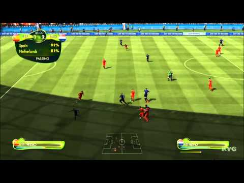 2014 FIFA World Cup Brazil - Spain vs Netherlands Gameplay [HD]