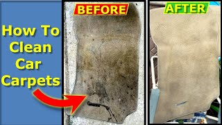 How To Clean Your Car Carpets, Floor Mats, and Fabric Seats