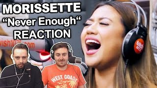 "Singers Reaction/Review to ""Morissette - Never Enough (LIVE on Wish 107.5 Bus)"""