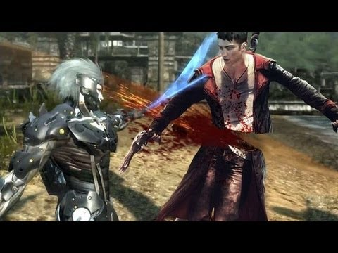Metal Gear Rising Revengeance - bosses trailer 1080p HD Boss battle