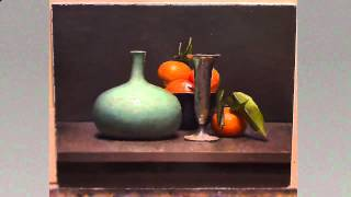 How to paint a still life - oil painting demo