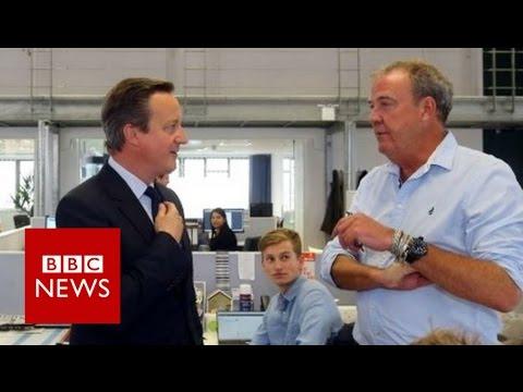 Jeremy Clarkson: 'Gut tells me I feel European' BBC News
