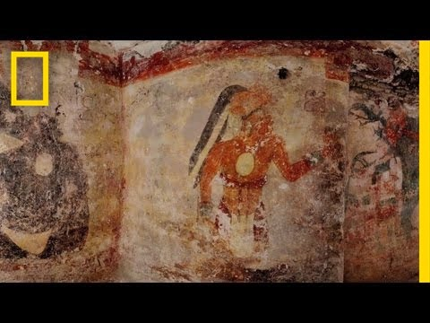 Mysterious Maya Calendar & Mural Uncovered